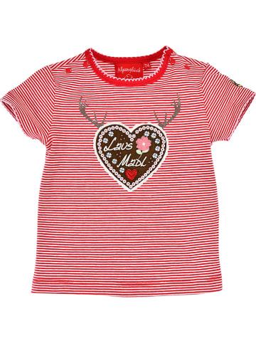 "Bondi Shirt ""LausMadl"" in Rot"