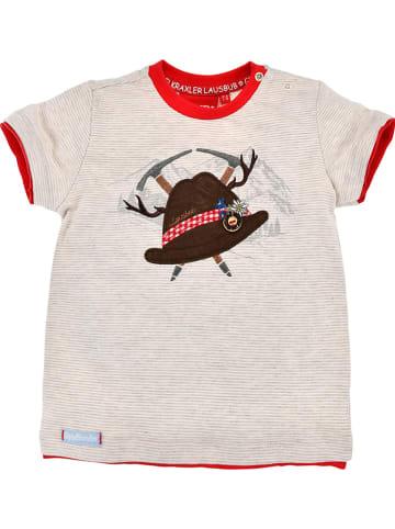 """Bondi Shirt """"Trachtenhut"""" in Beige"""