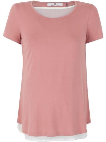 Bellybutton Stillshirt in Rosa/ Weiß