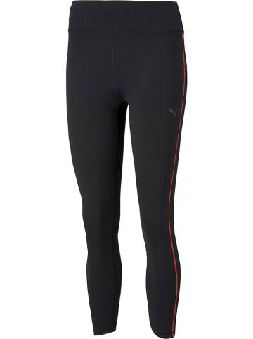 """Puma Legginsy sportowe """"Run"""" w kolorze czarnym"""