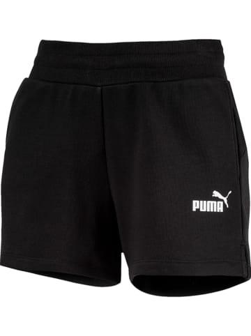 """Puma Szorty dresowe """"ESS"""" w kolorze czarnym"""