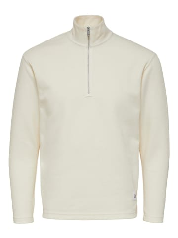 "SELECTED HOMME Sweatshirt ""Drew"" in Creme"