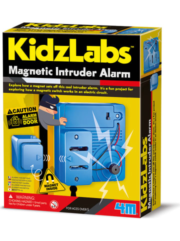 "4M Zestaw budowlany ""Magnetic Intruder Alarm"" - 5+"