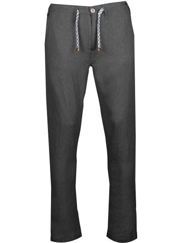 """INDICODE Spodnie """"Gallegos"""" - Regular fit - w kolorze czarnym"""
