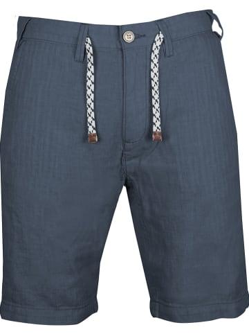 """INDICODE Short """"Schmidt"""" - regular fit - donkerblauw"""