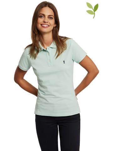 Polo Club Koszulka polo w kolorze jasnozielonym