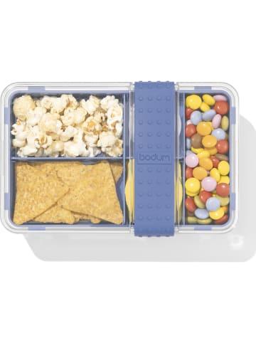 """Bodum Pojemnik """"Bistro"""" w kolorze niebieskim na lunch - 20,8 x 8,6 x 13,5 cm"""