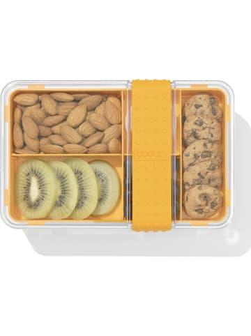 "Bodum Lunchbox ""Bistro"" transparant/geel - (B)20,8 x (H)8,6 x (D)13,5 cm"