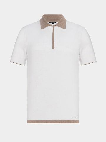 """Boris Becker Poloshirt """"Pedu"""" wit"""