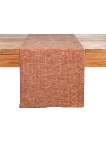 """Depot Bieżnik """"Raw"""" w kolorze jasnobrązowym - 150 x 40 cm"""
