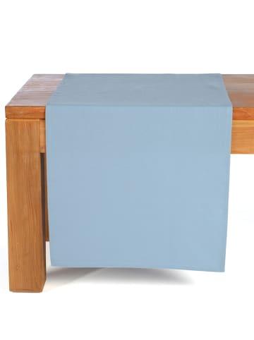 """Depot Bieżnik """"Uni"""" w kolorze błękitnym - 150 x 40 cm"""
