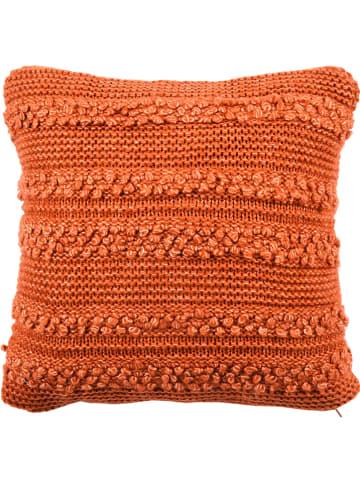 "Depot Kussenhoes ""Curly"" oranje - (L)45 x (B)45 cm"