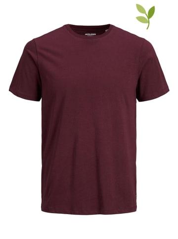 "Jack & Jones Shirt ""Organic basic"" in Dunkelrot"
