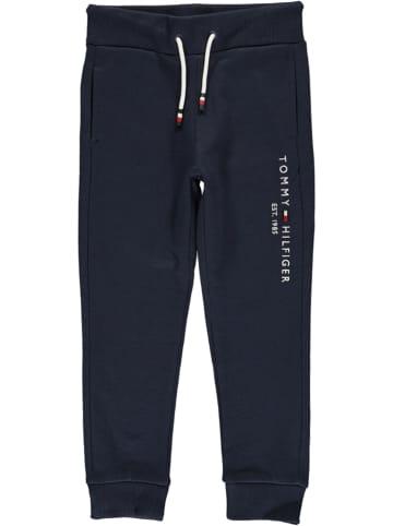 Tommy Hilfiger Spodnie dresowe w kolorze granatowym