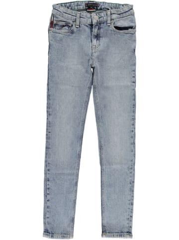 Tommy Hilfiger Dżinsy - Skinny fit - w kolorze błękitnym