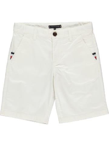 Tommy Hilfiger Szorty chino w kolorze białym