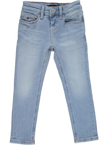 Tommy Hilfiger Dżinsy - Slim fit - w kolorze błękitnym