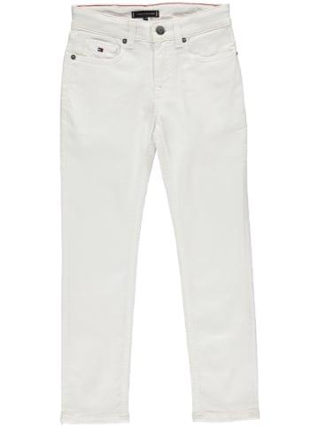 Tommy Hilfiger Dżinsy - Slim fit - w kolorze białym