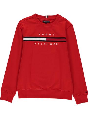 Tommy Hilfiger Bluza w kolorze czerwonym