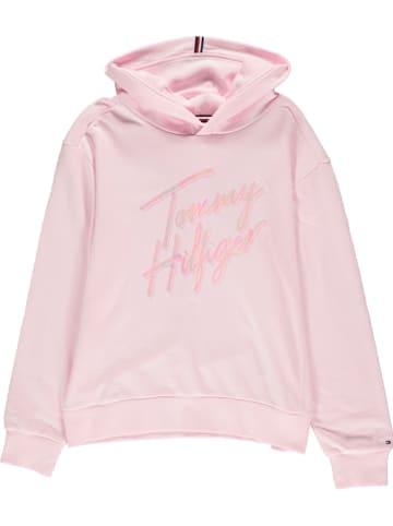 Tommy Hilfiger Bluza w kolorze jasnoróżowym