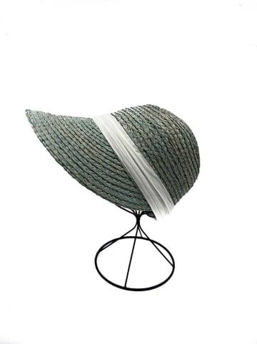 INKA BRAND Hut in Grün/ Weiß