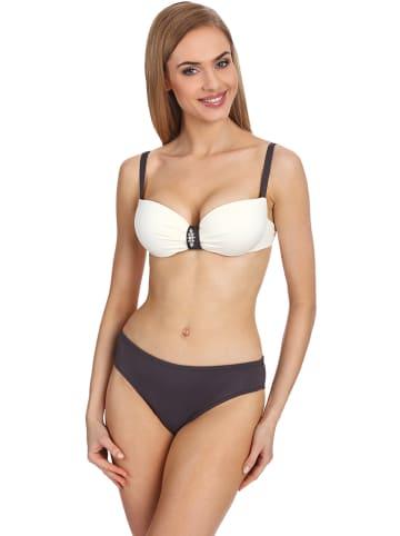 Merry Style Bikini w kolorze brązowo-kremowym