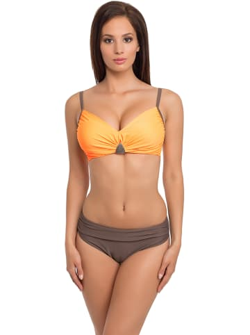 Verano Bikini w kolorze pomarańczowo-brązowym