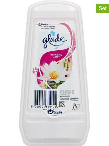 """Glade 8er-Set: Lufterfrischer-Gels """"Relaxing Zen"""", 8x 150 g"""