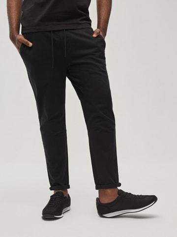 Diverse Spodnie w kolorze czarnym
