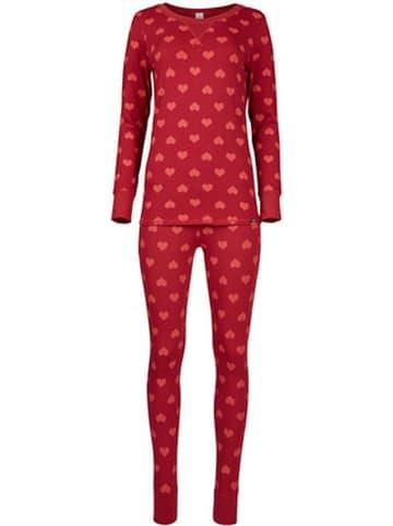 Skiny Pyjama in Rot