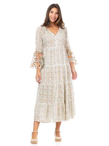 Peace & Love Sukienka w kolorze szarym