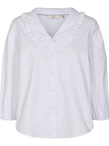 """NÜMPH Bluzka """"Nulacy"""" w kolorze białym"""