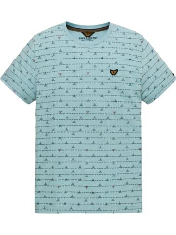 PME Legend Shirt lichtblauw
