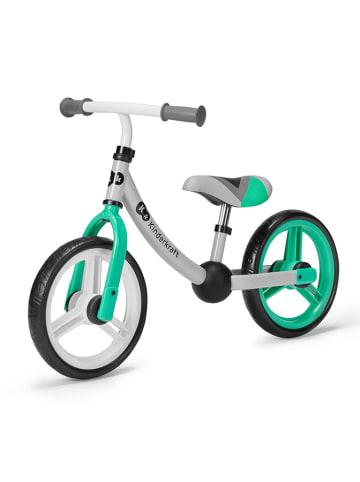 """Kinderkraft Rowerek biegowy """"2Way"""" w kolorze zielonym - 2+"""
