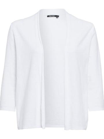 Marc Aurel Cardigan in Weiß
