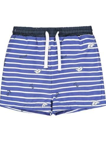 Steiff Szorty kąpielowe w kolorze niebieskim