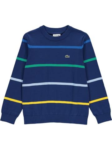 Lacoste Sweter w kolorze granatowym