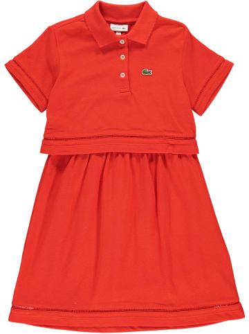 Lacoste Sukienka w kolorze czerwonym