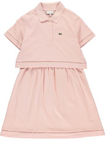 Lacoste Sukienka w kolorze jasnoróżowym