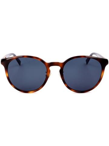 Max Mara Damen-Sonnenbrille in Braun/ Blau