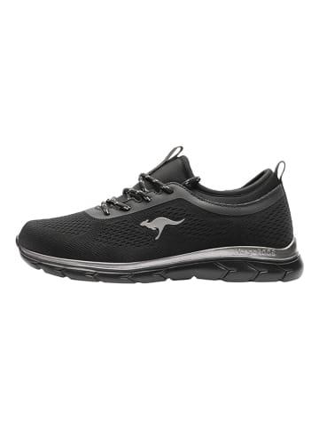"""Kangaroos Sneakersy """"KN-Bleak"""" w kolorze czarnym"""