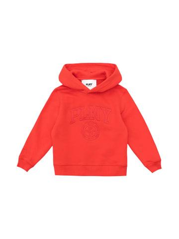 """PLNY Bluza """"PLNY"""" w kolorze czerwonym"""