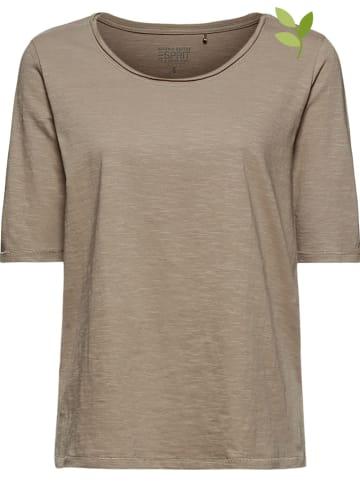 ESPRIT Koszulka w kolorze khaki