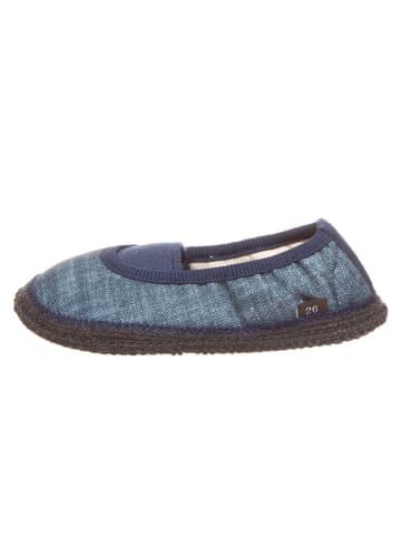 """Kitz pichler Hausschuhe """"Jeans"""" in Blau"""