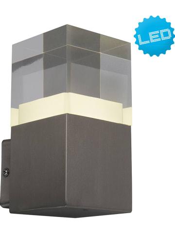 Näve Zewnętrzna lampa LED w kolorze antracytowym - 8 x 16 cm