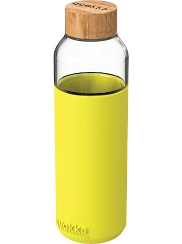 "Quokka Trinkflasche ""Flow"" in Gelb - 660 ml"