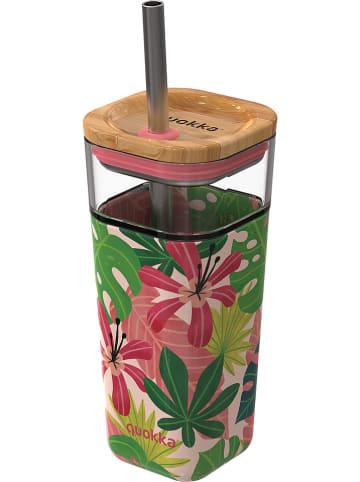 """Quokka Trinkbecher """"Liquid Cube"""" in Bunt - 540 ml"""