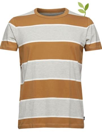 ESPRIT Koszulka w kolorze jasnobrązowym