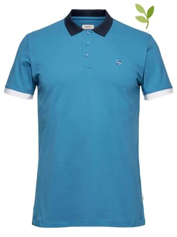 ESPRIT Koszulka polo w kolorze niebieskim