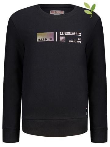 "Retour Sweatshirt ""Jim"" in Schwarz"
